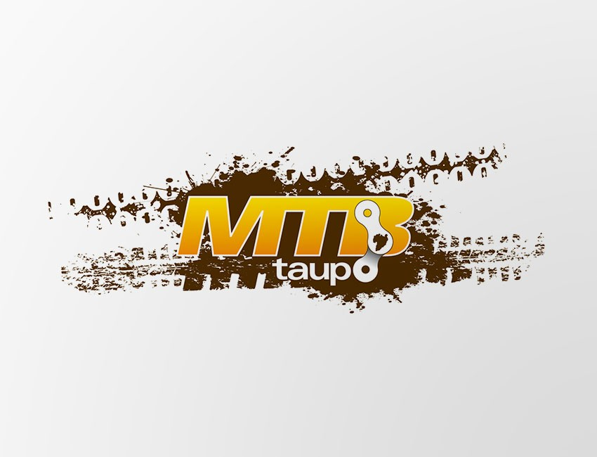 bike taupo logo amp map design by ninetyblack
