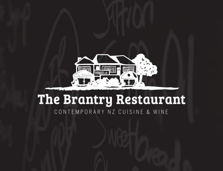 the brantry restaurant taupo logo design by ninetyblack