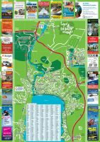 Taupo Visitor Map