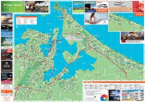 Bay of Plenty Visitor Map, Advertising & Publishing, ninetyblack
