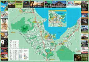 Rotorua Visitor Map
