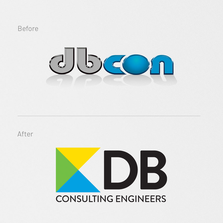 DB Consulting Engineers, Logo Design, Graphic Design, ninetyblack