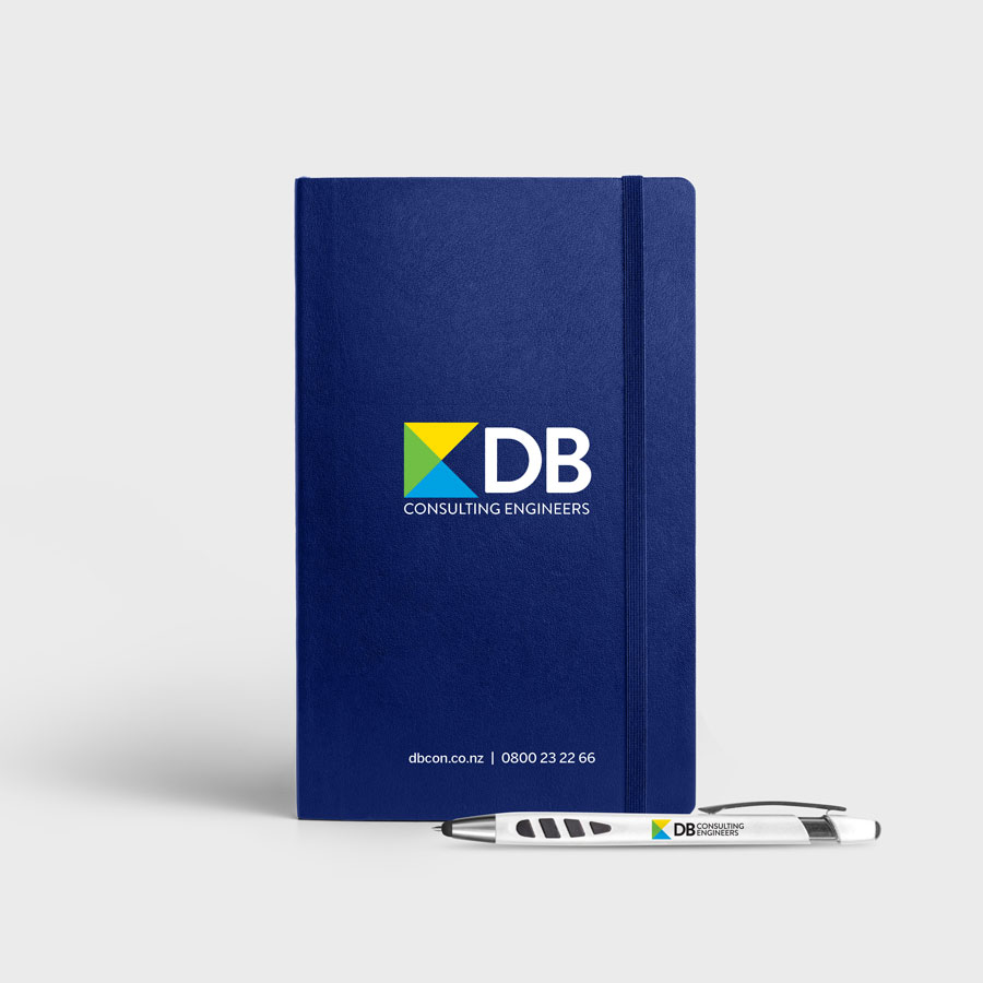 DB Consulting Engineers, Stationery, Marketing, Graphic Design, ninetyblack