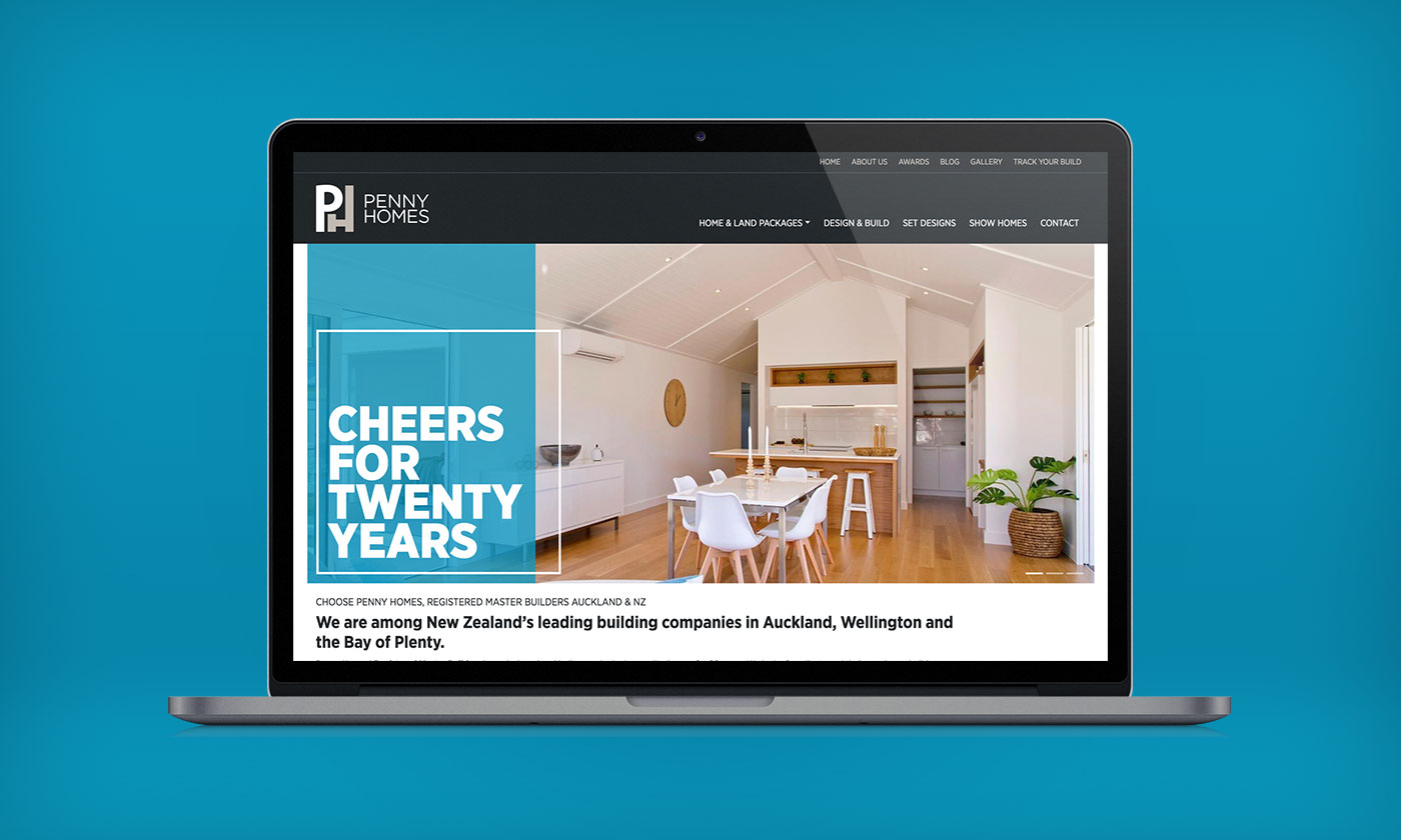 Penny Homes, Web Design, Development, Digital Marketing, ninetyblack