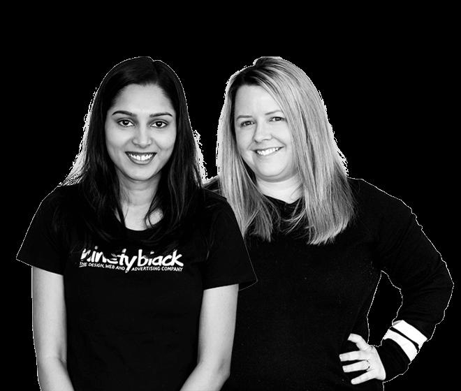 Deepika & Erin, Digital Marketing, ninetyblack